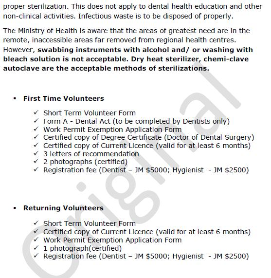 Dental Council of Jamaica on travel forms, training forms, long term care forms, surgical forms, pharmacy forms, restaurant forms, chiropractic forms, massage forms, basic physical exam forms, insurance forms, gynecology forms, emergency forms, medical forms, wellness forms, anesthesia forms, veterinary forms, army periodic health assessment forms, internet forms, std forms, optometry forms,